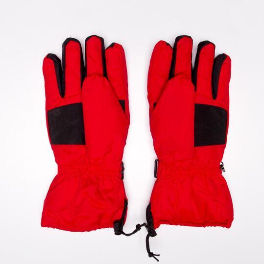 Guantes Nieve BORIKEN Rojo Negro Hombre