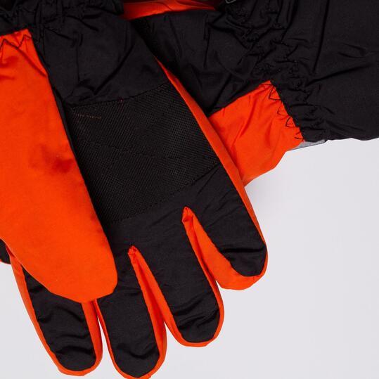 Guantes Nieve BORIKEN Negro Naranja Niño