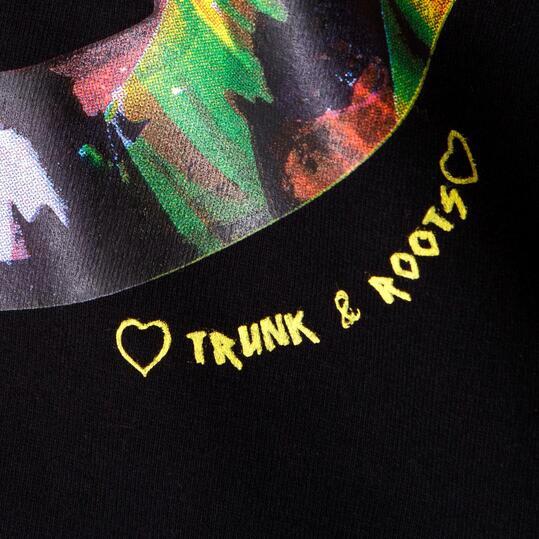 T&R Camiseta Manga Corta Mujer