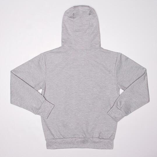Sudadera Capucha UP BASIC Gris Niña (10-16)