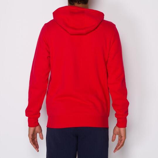 FILA BASIC Sudadera Capucha Rojo Hombre