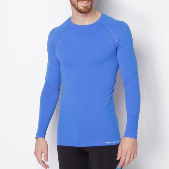 Camiseta Interior Manga Larga MÍTICAL SEAMLESS Azul Hombre