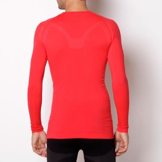 Camiseta Interior Manga Larga MÍTICAL SEAMLESS Rojo Hombre