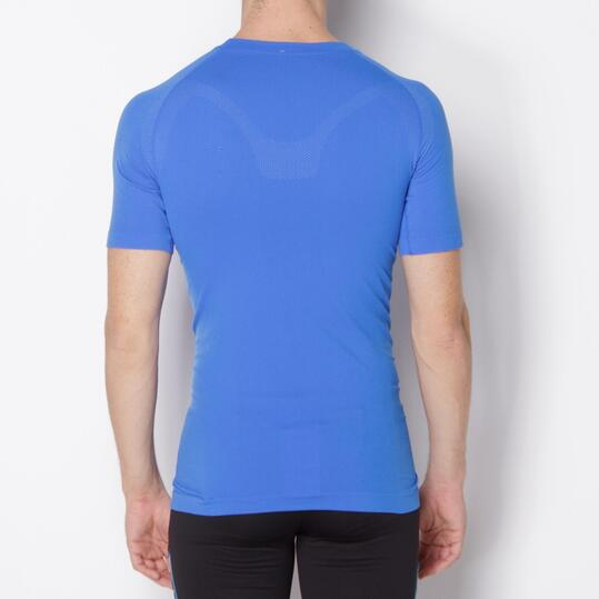 Camiseta Interior Manga Corta MÍTICAL SEAMLESS Azul Hombre
