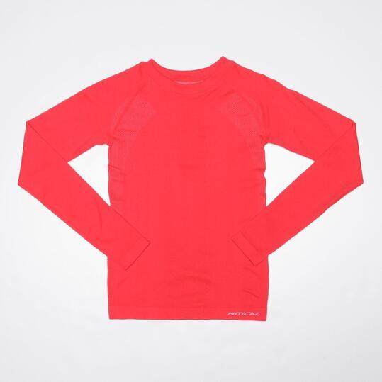 Camiseta Interior Manga Larga MÍTICAL SEAMLESS Rojo Niño ( 10 y 14)
