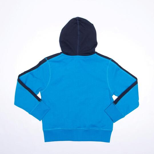 Chándal Capucha SILVER Felpa Azul Niño (2-8)