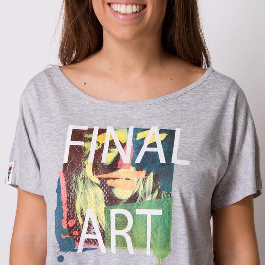 Camiseta SILVER BRUSHTROKE Vigoré Mujer