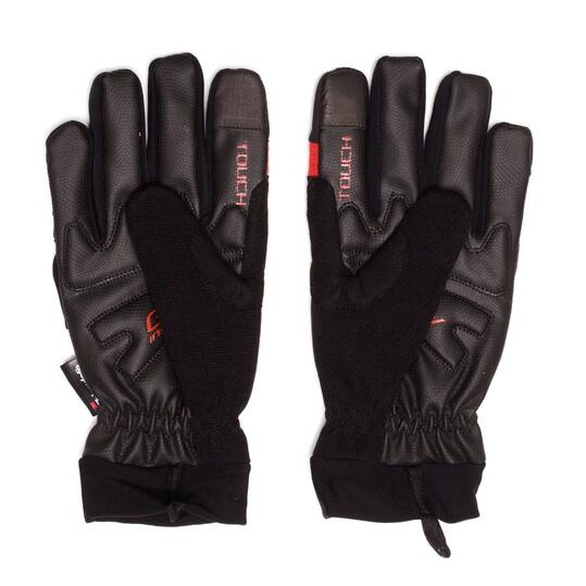 Guantes Ciclismo MÍTICAL THINSULATE Negro Rojo