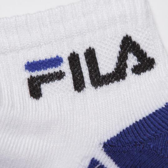 Calcetines Deportivos FILA Blanco Niño