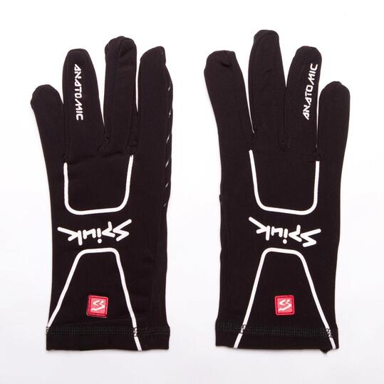 SPIUK ANATOMIC Guantes Ciclismo Negro