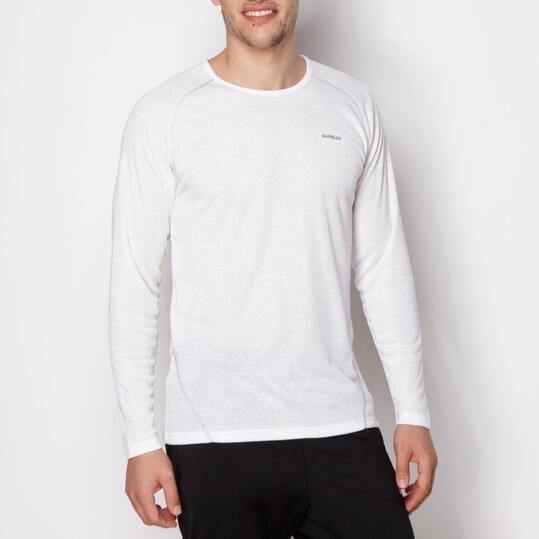 Camiseta Interior BORIKEN Blanco Hombre