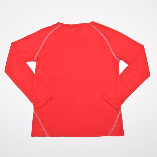 Camiseta Interior BORIKEN Rojo Niño/a (10-16)