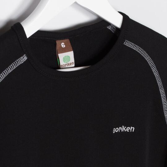 Camiseta Interior BORIKEN Negro Niño (2-8)