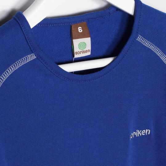 Camiseta Interior BORIKEN Azul Niño/a (2-8)