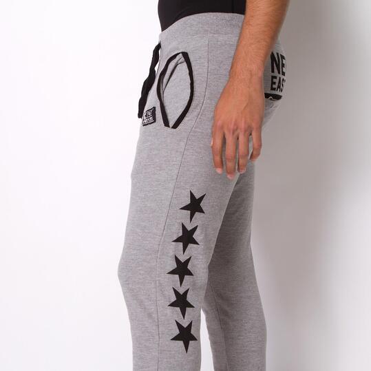Pantalón Chándal TRUNK&ROOTS STARS Negro Hombre