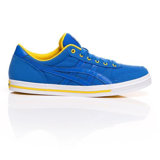 ASICS AARON Zapatillas Lona Azul Hombre