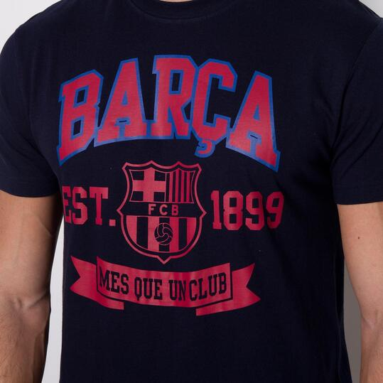 Camiseta Manga Corta BARÇA SOURCE LAB Marino