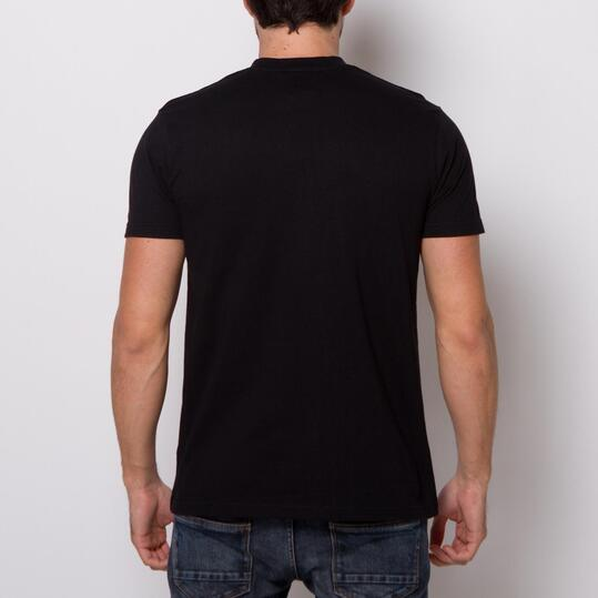 Camiseta Manga Corta LIVERPOOL SOURCE LAB Negra