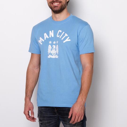 Camiseta Manga Corta MANCHESTER SOURCE LAB Celeste