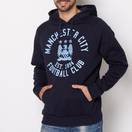Sudadera Manchester City SOURCE LAB Marino Hombre