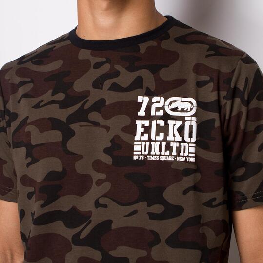ECKO MIDTOWN PRINT Camiseta Manga Corta Hombre Camuflaje
