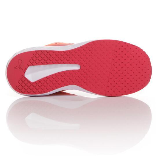 PUMA FLARE Zapatillas Running Coral Mujer