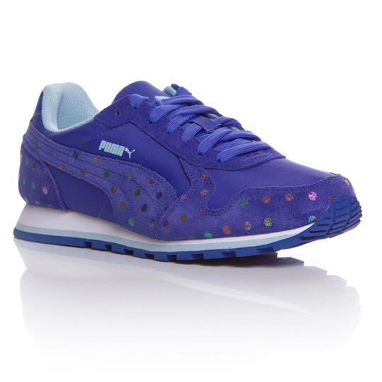 PUMA RUNNER DOTFETTI Sneakers Azul Niña (36-39)