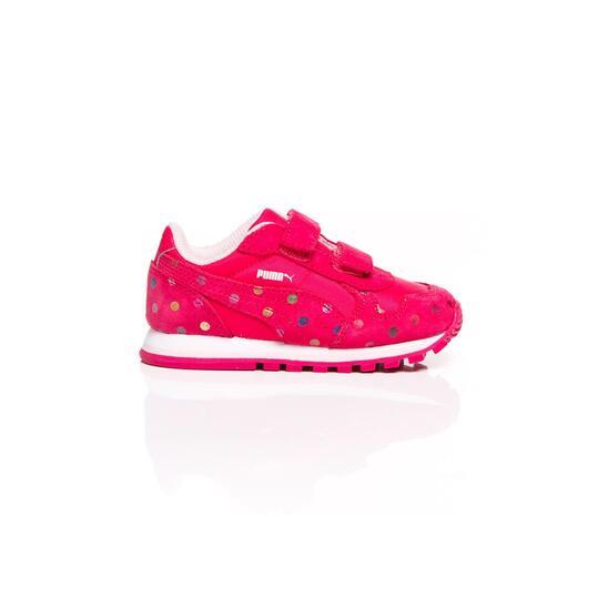 PUMA RUNNER DOTFETTI Sneakers Coral Niña (20-27)