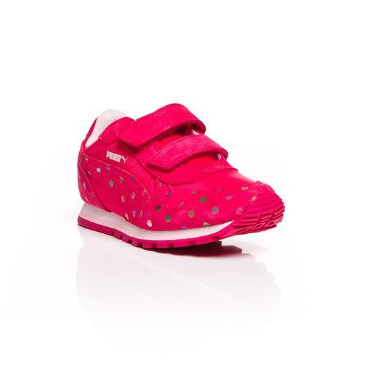 PUMA RUNNER DOTFETTI Sneakers Coral Niña (28-35)