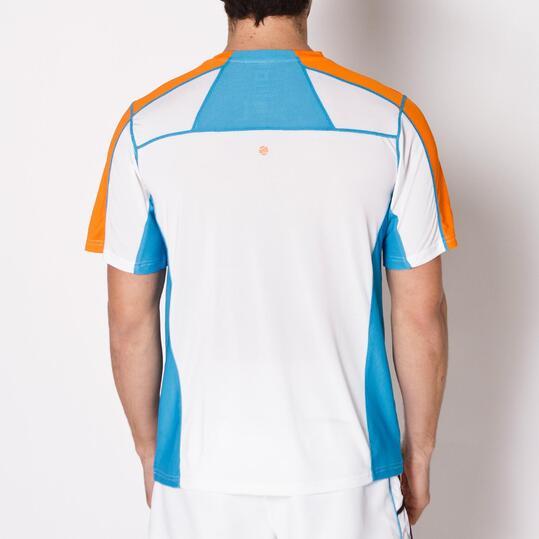 Camiseta Tenis Manga Corta PROTON Blanco Hombre