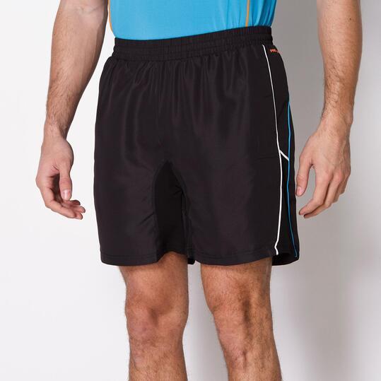 Pantalón Corto Tenis PROTON Negro Hombre
