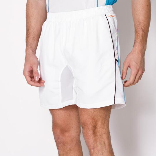 Pantalón Corto Tenis PROTON Blanco Hombre