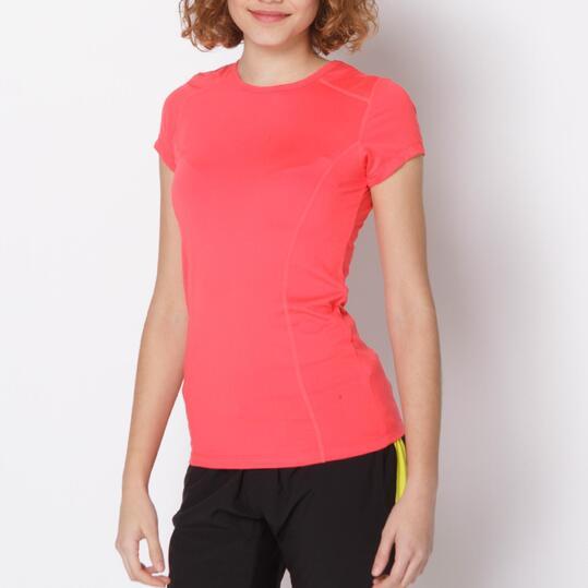 Camiseta Tenis PROTÓN Coral Mujer