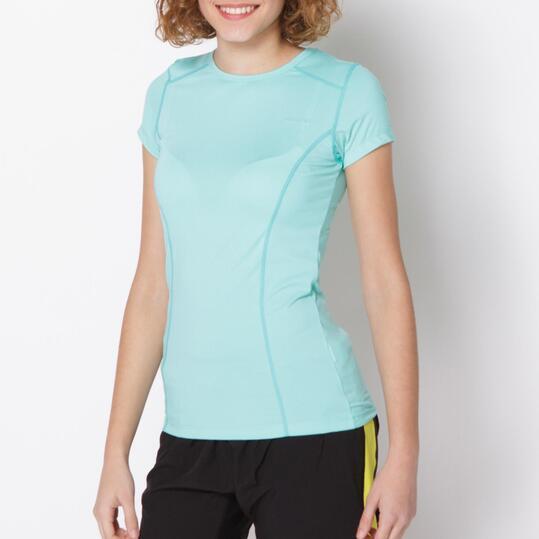 Camiseta Tenis PROTÓN Turquesa Mujer