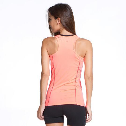 Camiseta Tirantes PROTON BASIC Coral Mujer