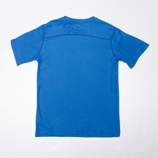 Camiseta Tenis Manga Corta PROTON Azul (10-16)
