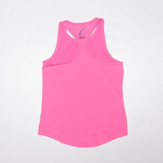 Camiseta Yoga Tirantes ILICO Fucsia Mujer