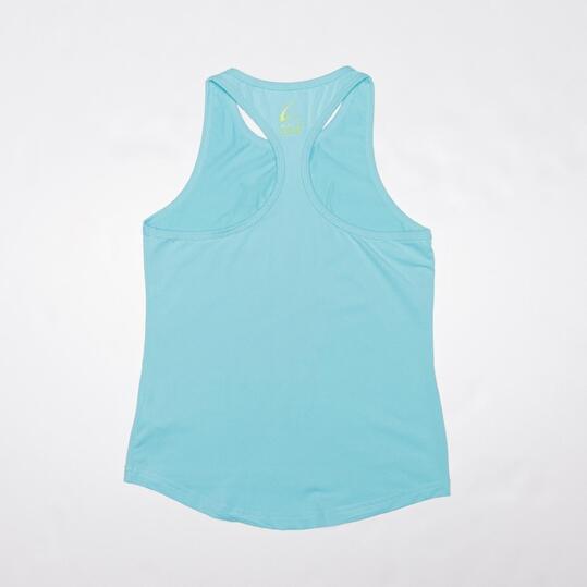 Camiseta Yoga Tiranes ILICO Turquesa Mujer