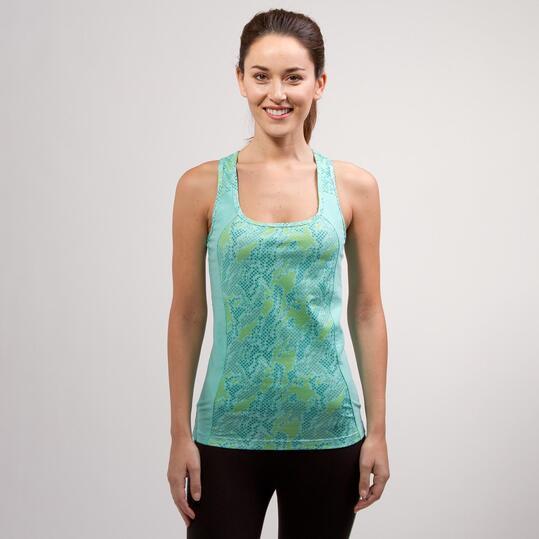 Camiseta Nadadora ILICO BRONCE Turquesa Mujer
