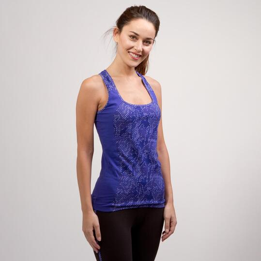 Camiseta Gym ILICO Azul Mujer
