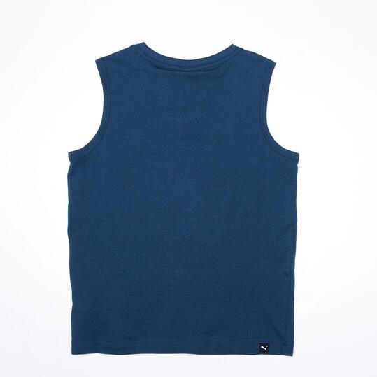 PUMA Camiseta Sin Tirantes Marino Niño (10-16)