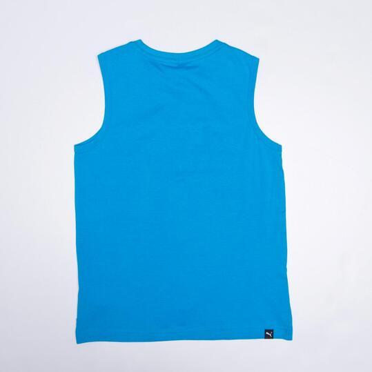 PUMA ESS Camiseta Sin Mangas Azul Niño (10-16)