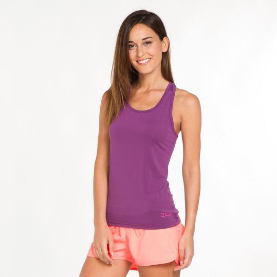 Camiseta Nadadora ILICO Morado Mujer