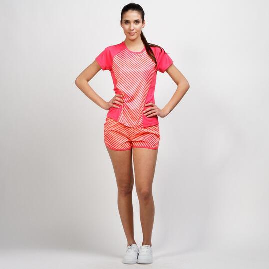 PUMA Pantalón Running Naranja Coral Mujer