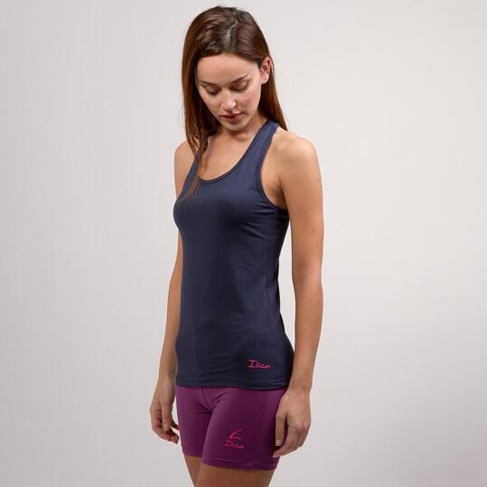 Camiseta Nadadora ILICO Marino Mujer