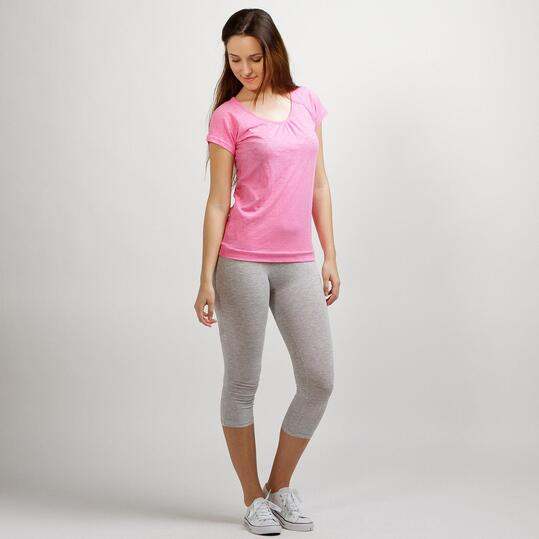 ILICO Camiseta Manga Corta Rosa Mujer
