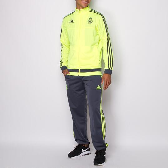 ADIDAS Chándal Real Madrid Amarillo Hombre  31dc6dc20c7ea