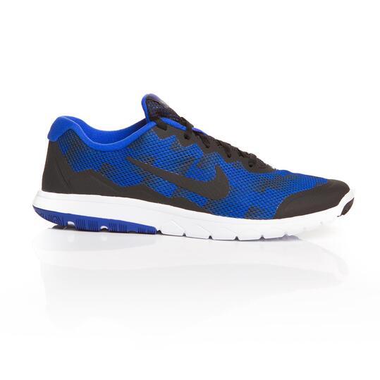 NIKE FLEX EXPERIENCE Zapatillas Running Azul Negro