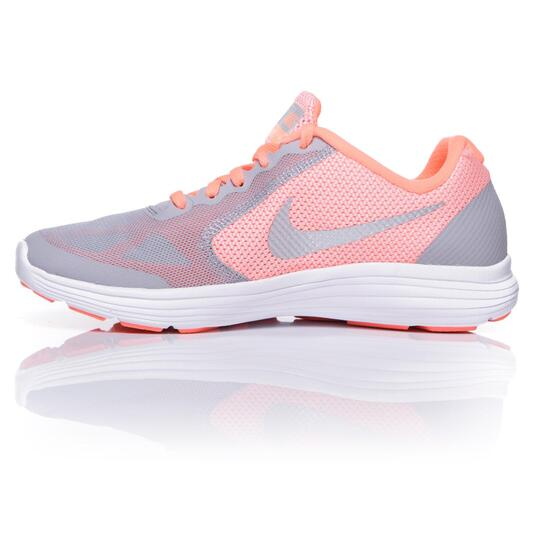 NIKE REVOLUNTION 3 Zapatillas Running Gris Niña (36,5-38,5)