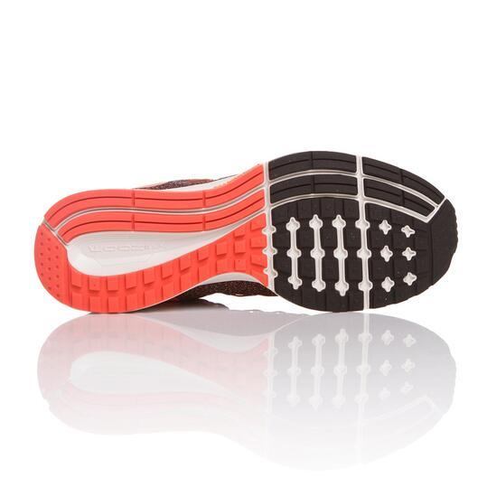 NIKE AIR ZOOM PEGASUS Zapatillas Running Negro Naranja Mujer